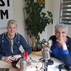 Robin Leon sur EST FM