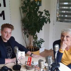 Nico Names en interview sur EST FM avec Corinne Frech